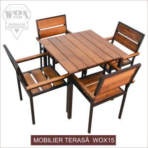 mobilier terasa wox 15 woxfad targoviste