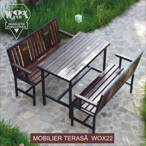mobilier terasa wox 22 woxfad targoviste